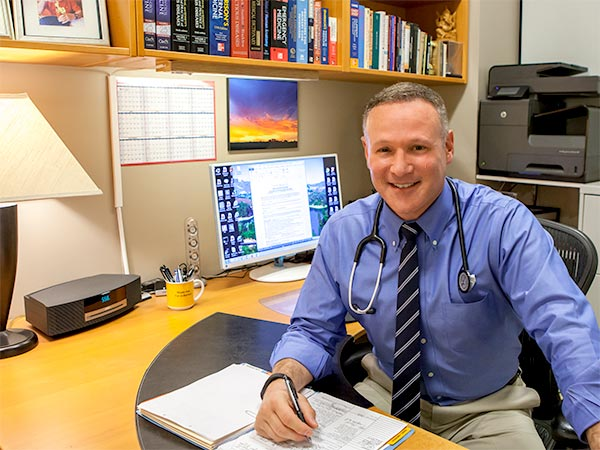 Dr. Cohan in Beverly Hills Office
